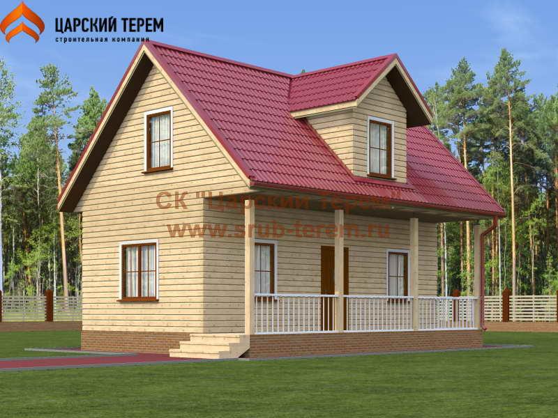 Дом из бруса 6х9 | Д112