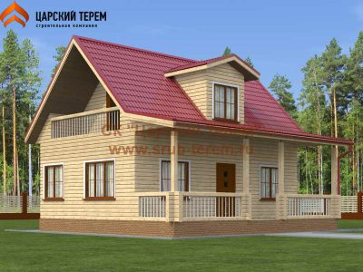Дом из бруса 6х9 | Д115