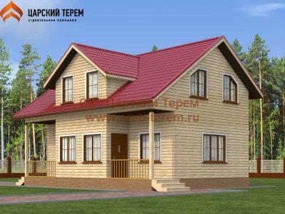 Дом из бруса 7х10 | Д117