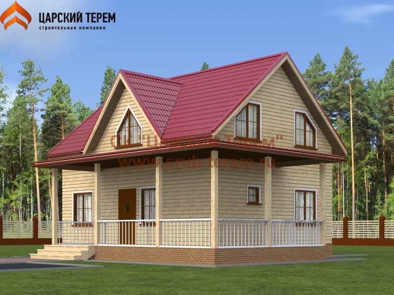 Дом из бруса 7х9 | Д118