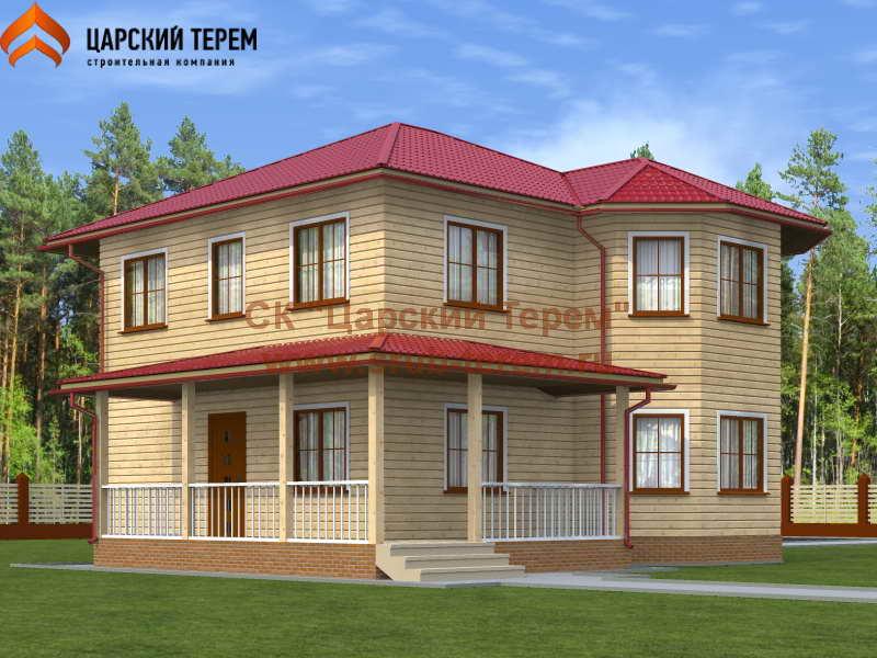 Дом из бруса 8х9 | Д120