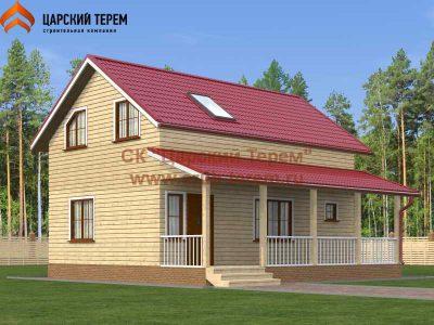 Дом с баней 6х9