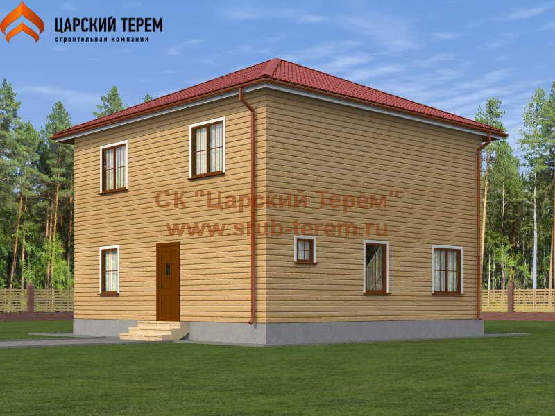Проект дома 9х9 (2 этажа) | Д170