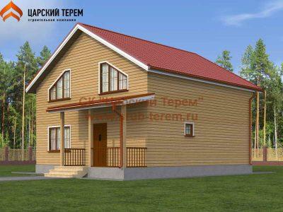 Проект дома 9х9 с отличной планировкой